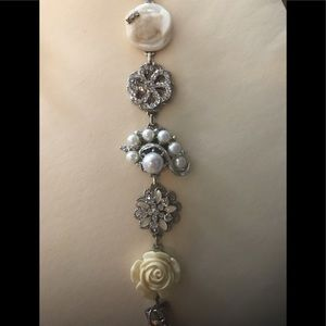 Wedding/formal bracelet and earrings